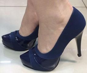 00e6c3289e Scarpin Bico Tubarão Feminino Scarpins - Sapatos no Mercado Livre Brasil