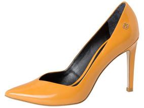 7c051515ea Sapato De Salto Laranja no Mercado Livre Brasil