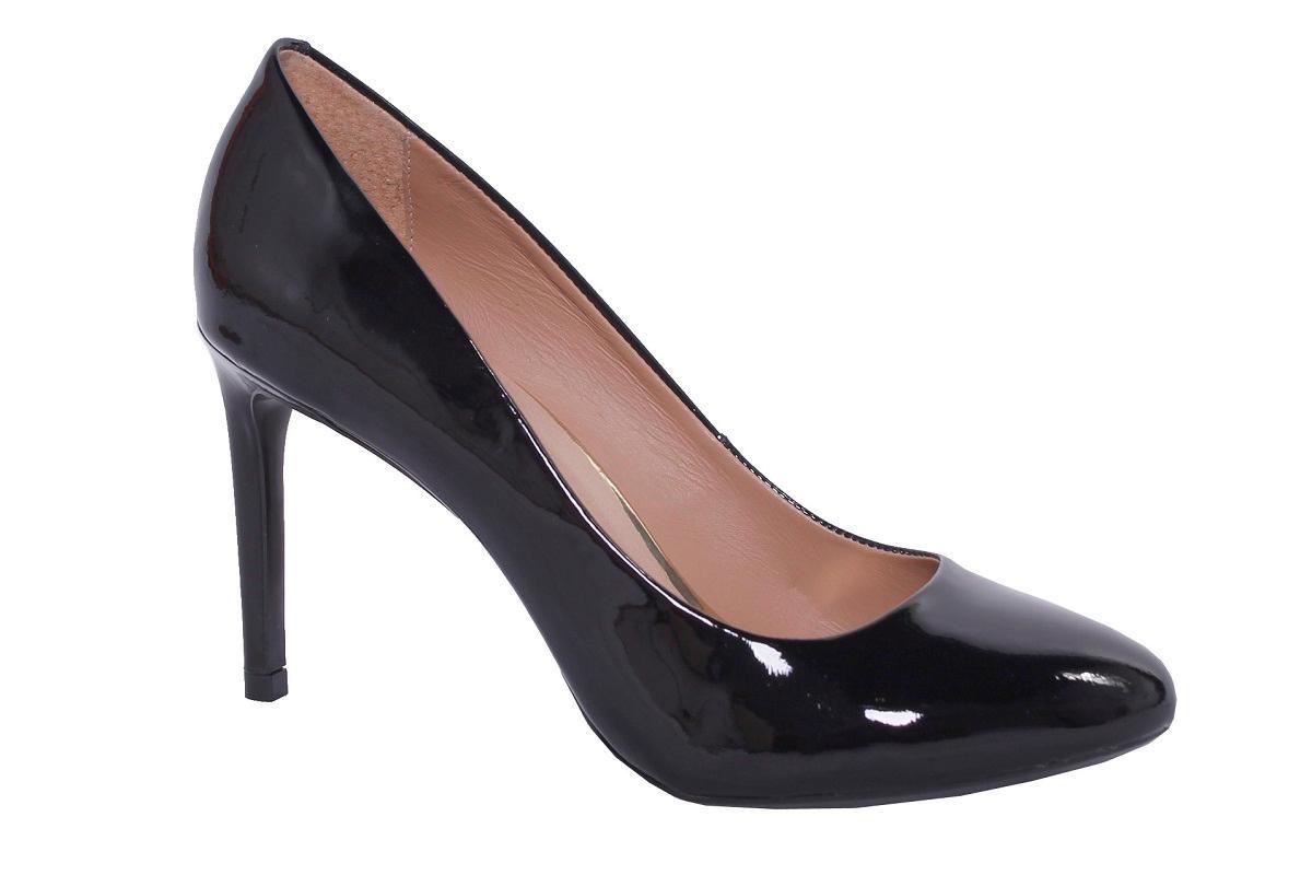 e582e6a187 scarpin bico redondo clássico conceito fashion verniz. Carregando zoom.