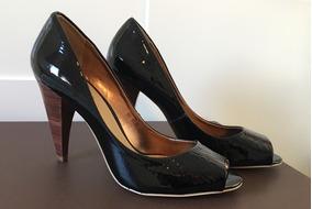 26c2b96029 Sapato Corello Peep Toe Couro - Calçados