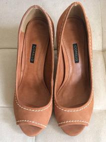 cb803615fd Sapato Scarpin Corello Em Couro Femininos Sapatos Outros - Calçados ...