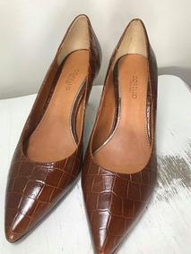 271608579e Scarpin De Onça Corello - Sapatos no Mercado Livre Brasil