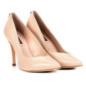 434c8b10a2 Sapato Scarpin Bege Salto Alto Jorge Bischoff - Sapatos no Mercado ...