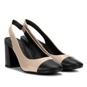 18c9b0a00d Scarpin Médio Preto Loucos E Santos - Sapatos no Mercado Livre Brasil