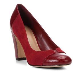 5d745ce3c5 Salto Alto Scarpin Cinza Feminino - Sapatos no Mercado Livre Brasil