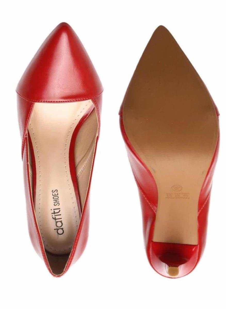 22cc455002 scarpin dafiti shoes vermelho n35. Carregando zoom.
