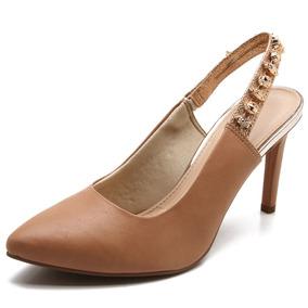 fedb2314f6 Scarpin Marrom - Scarpins Dakota para Feminino no Mercado Livre Brasil
