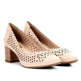63ec3ac50e Scarpin Recorte Laser - Sapatos no Mercado Livre Brasil