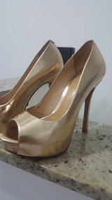 44a831c1a Scarpin Metalizado Da Schutz Feminino - Sapatos com o Melhores ...