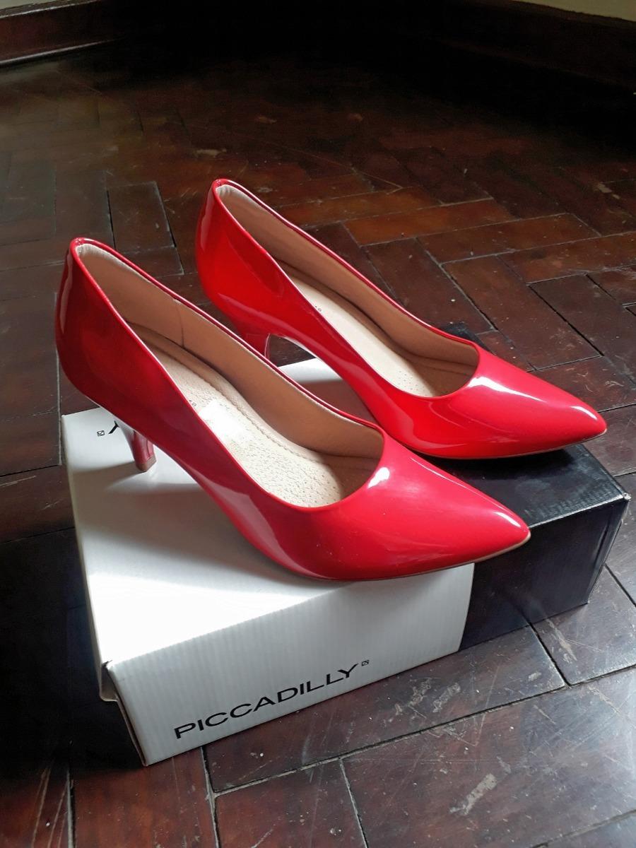1f90ae361b Scarpin Feminino Bico Fino Piccadilly 745035 - R  99