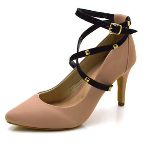 2e3d71c0a Scarpin De Amarrar Perna Feminino - Sapatos com o Melhores Preços no ...