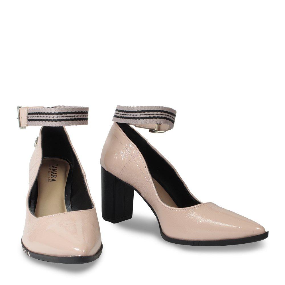a6fad6f112 Carregando zoom... sapato scarpin tanara feminino t3323 com tornozeleira