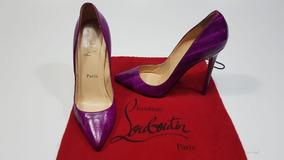 a5a0442d6f Sapato Louboutin Scarpin Sola Vermelha Feminino Scarpins - Scarpins ...