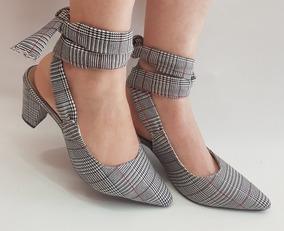 5b97683379 Sapato Scarpin Xadrez - Sapatos em São Paulo no Mercado Livre Brasil