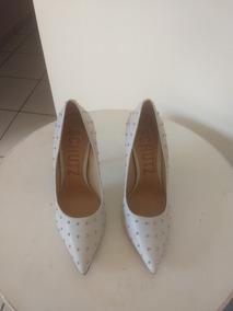 4834f780c Schutz Oxford Prata Scarpins - Sapatos no Mercado Livre Brasil