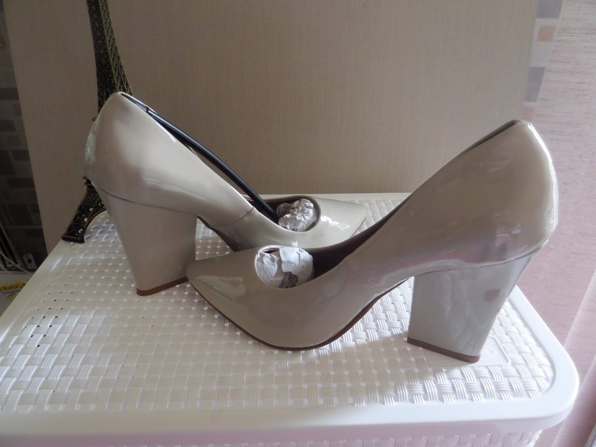 01e33cfa37 Scarpin Marfim Dafiti Shoes