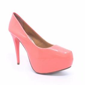 ea22895a7b Sapato Feminino Marca Sl - Sapatos Laranja no Mercado Livre Brasil