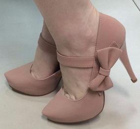 94f7e4d083 Sapato Meia Pata Boneca Nude - Sapatos no Mercado Livre Brasil