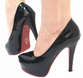 d002452c69 Sapato Sola Vermelha Feminino - Scarpins e Plataformas Feminino no Mercado  Livre Brasil