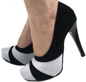 95cb217e7 Scarpin Meia Pata Branco - Sapatos com o Melhores Preços no Mercado Livre  Brasil