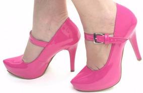 089a3adcb Scarpin Meia Pata Rosa Pink - Sapatos com o Melhores Preços no Mercado  Livre Brasil