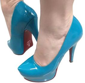 bbc4d47d83 Lindas Sandalia Salto Fino Alto - Sapatos no Mercado Livre Brasil