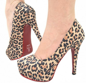 dc3740ed6f Scarpin Oncinha Vizzano - Sapatos no Mercado Livre Brasil