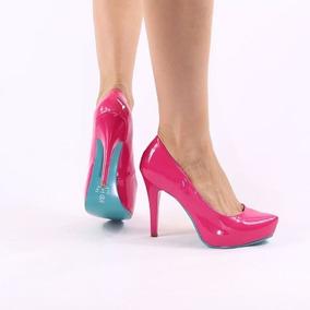 7d7bd8ca1 Scarpin Pink Rosa Salto Alto Feminino - Sapatos com o Melhores Preços no  Mercado Livre Brasil