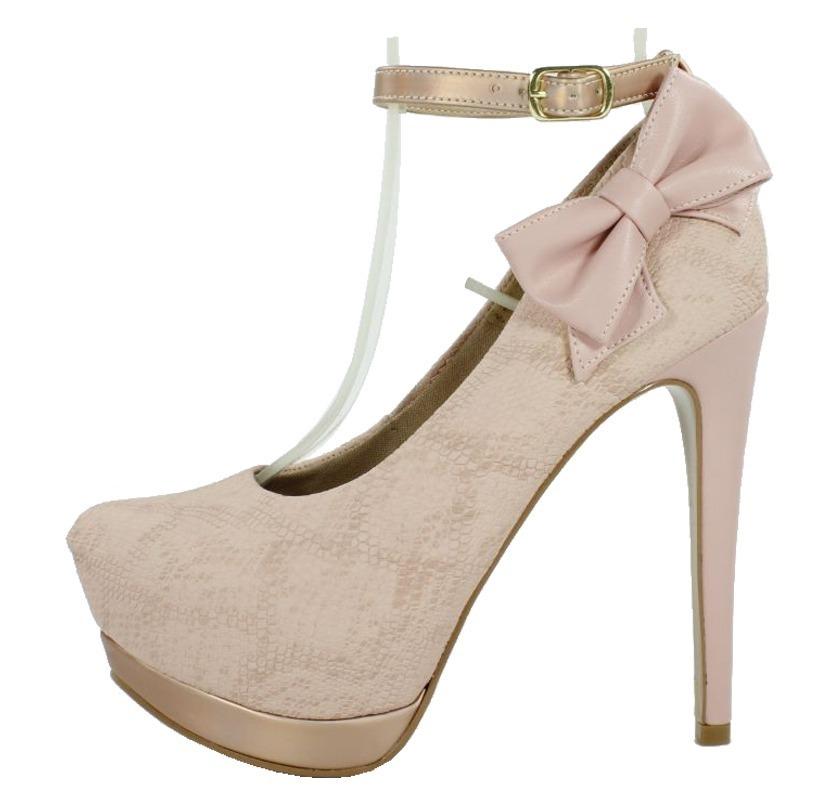 a2fbfe2ff6 scarpin meia pata salto alto tornozeleira rosê frete gratis. Carregando  zoom.