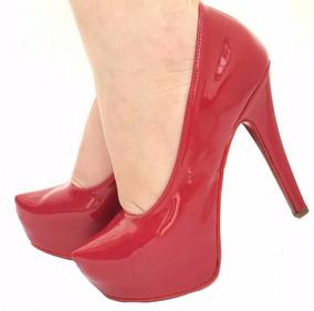 f0fb3cb837 Scarpin Pata De Tubarao Xadrez Feminino Scarpins - Sapatos no ...