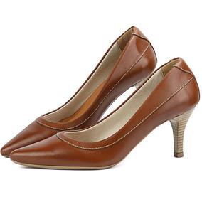 f22fa47dec Salto Alto Agulha - Sapatos para Feminino Azul marinho no Mercado Livre  Brasil