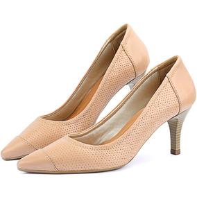 6c7f5550e8 Salto Alto Agulha - Sapatos para Feminino Branco no Mercado Livre Brasil