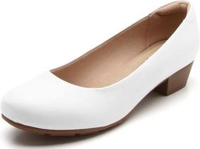 0b33bac2a Sapato Branco De Salto Grosso - Sapatos no Mercado Livre Brasil