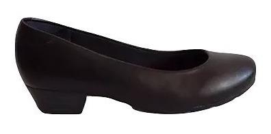 c3d015fae Scarpin Modare Ultra Conforto Salto Baixo Preto Feminino - R$ 79,99 ...