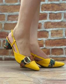 56a865d5f8 Scarpin Colorido Tamanho 36 - Scarpins 36 para Feminino no Mercado Livre  Brasil