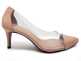 baa246c20f Scarpin Transparente Schutz - Sapatos no Mercado Livre Brasil