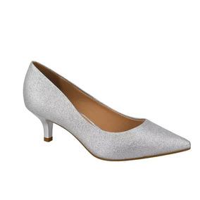799b65389 Glitter Holografico Dourado Scarpins Vizzano - Calçados, Roupas e Bolsas  com o Melhores Preços no Mercado Livre Brasil