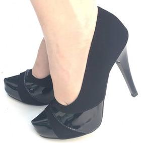 a17fb9fba Sapato Scarpin Bico Fino Boneca - Sapatos no Mercado Livre Brasil