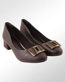 103864abd0 Sapatos Femininos Ramarim Salto Grosso - Sapatos no Mercado Livre Brasil