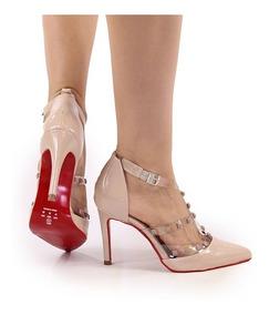 6141c801c85c9 Scarpin Fivela Feminino - Calçados, Roupas e Bolsas com o Melhores Preços  no Mercado Livre Brasil