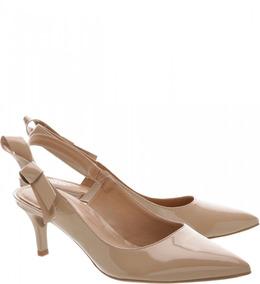 3822f05a74 Scarpin Verniz Com Laço Na Frente - Sapatos no Mercado Livre Brasil