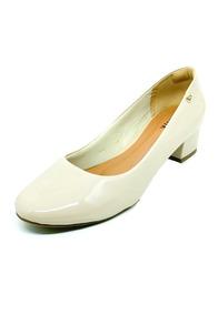 790ec01e4f Scarpin Bico Redondo Nude - Sapatos no Mercado Livre Brasil