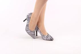 da1e75a92a Scarpin Belissima Zebra Nº 36 R  60