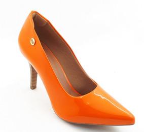 c1c5b922f3 Ballasox Bico Fino Feminino Scarpins - Sapatos para Feminino Laranja no  Mercado Livre Brasil