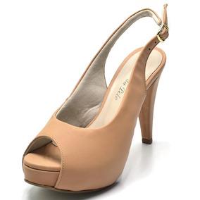 bcb7a68d42 Sapato Scarpin Aberto Atras Stiller - Calçados