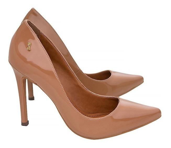 c981dbf6d53 Scarpin Santa Lolla Salto Alto Verniz - Feminino - Chocolate - R ...