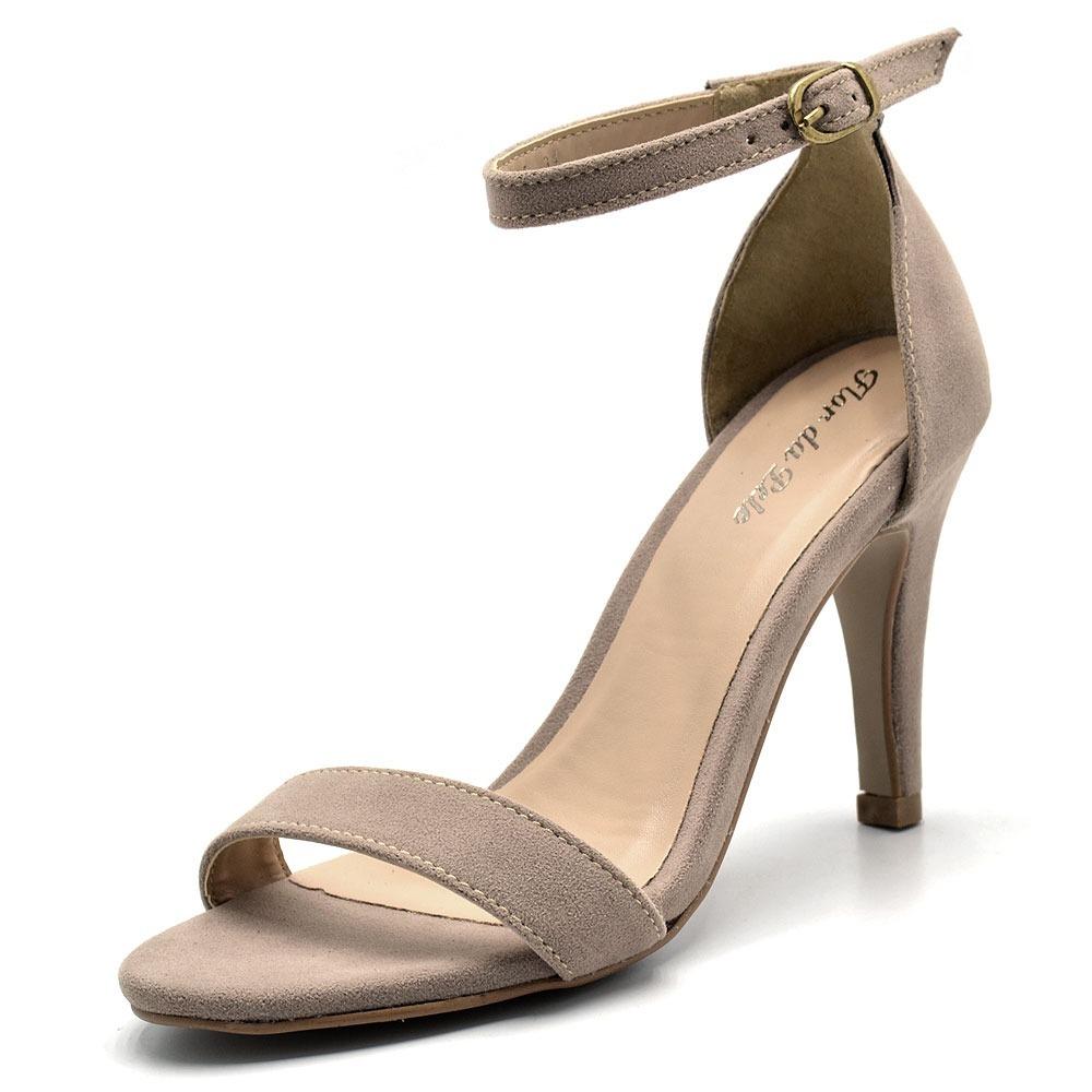 c03638de09 Scarpin Sapato Salto Alto Feminino Moda Bico Fino - R  159