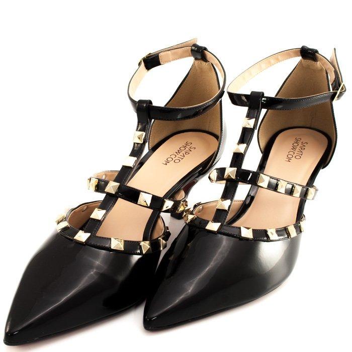 d9c15e1daa Scarpin Spikes Numeração Especial Sapato Show 1060008e - R  209