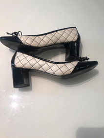 98c899bd21 Sapato Bicolor Scarpins - Sapatos no Mercado Livre Brasil