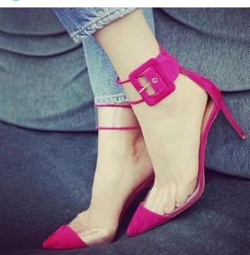 eea41a1b3 Scarpin Vinil Transparente Feminino - Sapatos no Mercado Livre Brasil